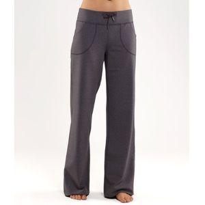 Lululemon Still Pant Grey Gray Size 10 Wide Leg